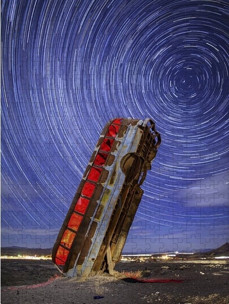 The Magic Bus Jigsaw Puzzle | Shop Photography by Rick Berk