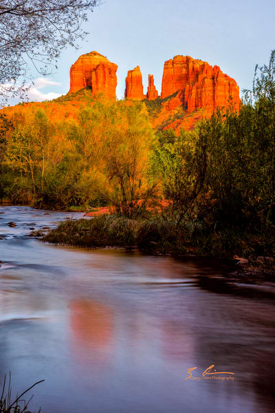 Cathedral Rock Refelctions Photography Art | Casey Chinn Photography LLC