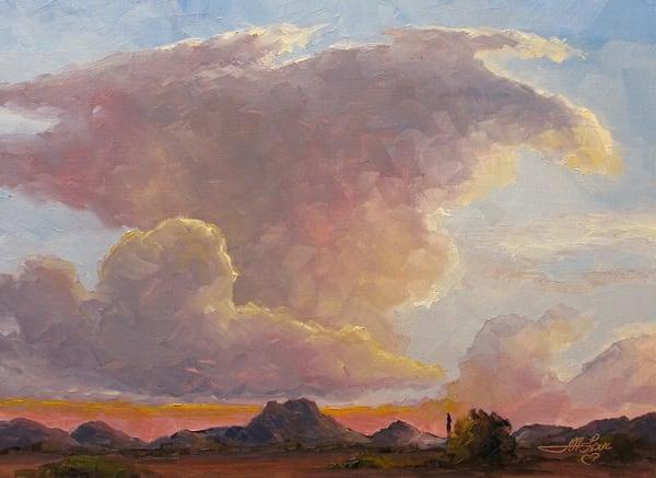 Anvil Cloud Of The Desert Art | Artisanjefflove