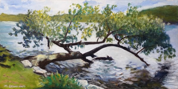 Tree Over Water by Mark Granlund