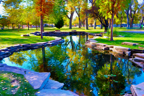 Liberty Pond Art | Oz Fine Art Studio