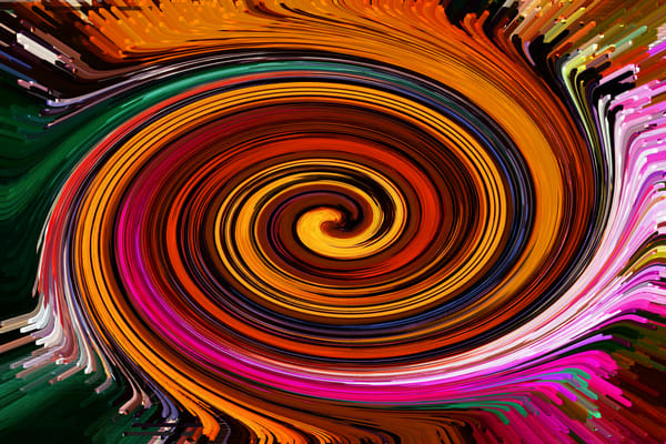 Flame Wave Art | Oz Fine Art Studio