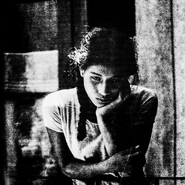 Retake (from an M. A. Bravo's Girl on balcony, Oaxaxa)