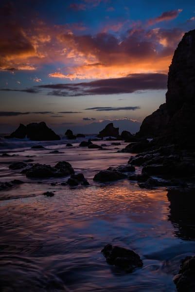 Malibu Sunset Ii Photography Art | Greg Starnes Phtography