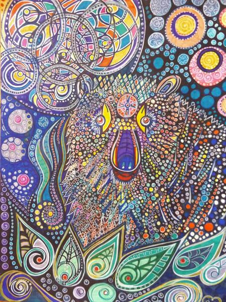 Bear's Dream Art   Cynthia Christensen Art