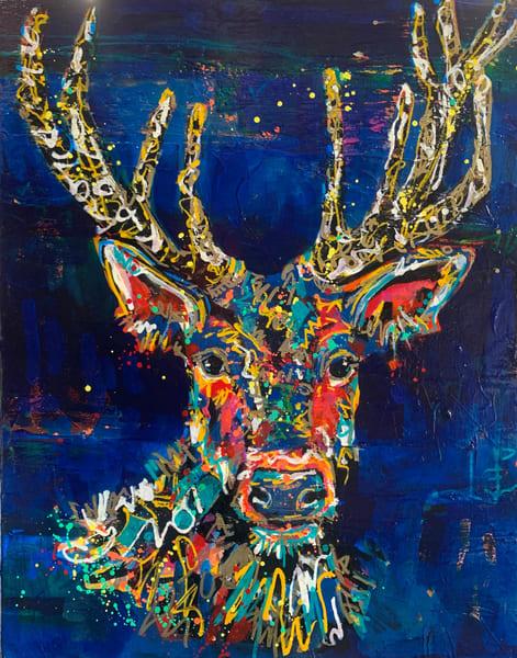 Dahlia Art | Kristyn Watterworth