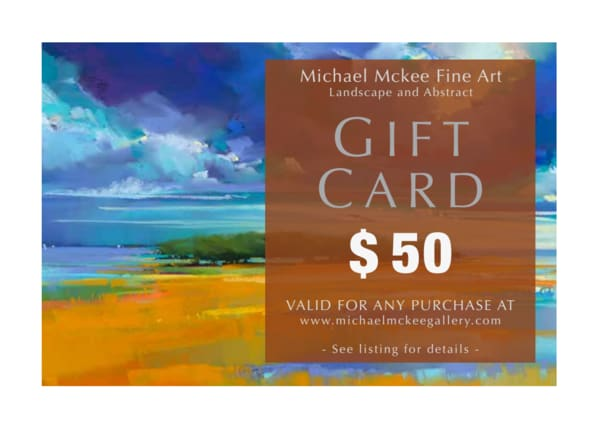 $50 Gift Card | Michael Mckee Gallery Inc.
