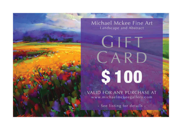 $100 Gift Card | Michael Mckee Gallery Inc.
