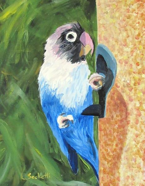 Love Is Blue Art   Linda Sacketti