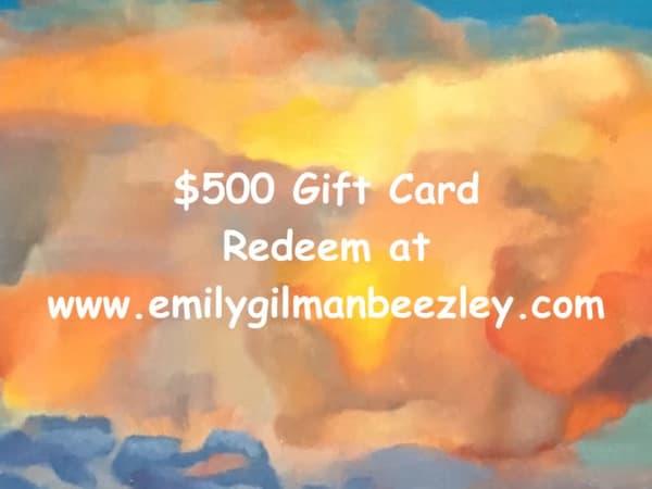 $500 Gift Card | Emily Gilman Beezley