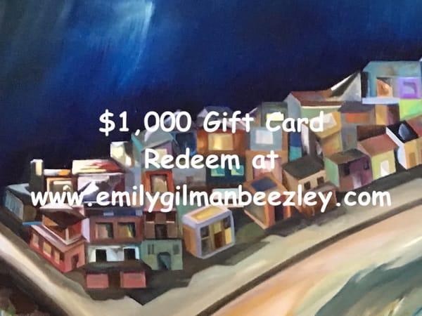 $1,000 Gift Card | Emily Gilman Beezley