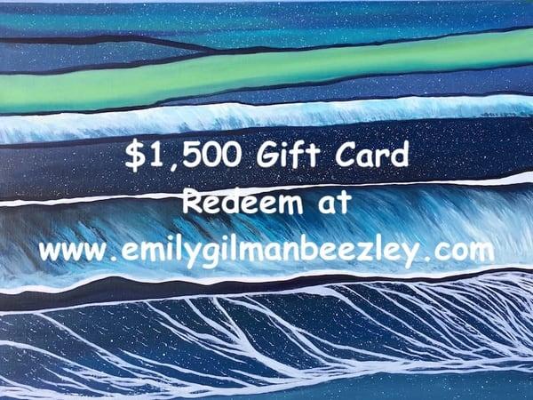 $1,500 | Emily Gilman Beezley