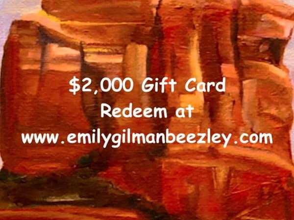 $2,000 Gift Card | Emily Gilman Beezley