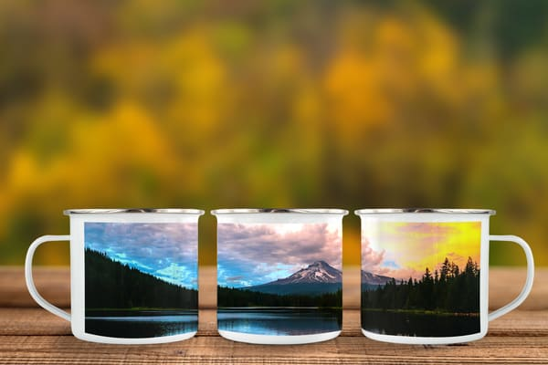 Fire Sky Camp Mug | Call of the Mountains Photography