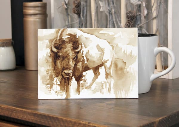 Not A Buffalo - Mini Painting