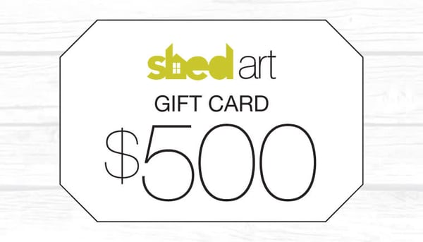 Gift Card | Shed Art