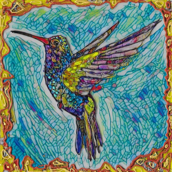 Flying Hummer 3 Art | Channe Felton Fine Art