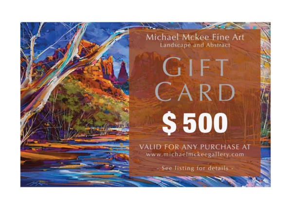 $500 Gift Card | Michael Mckee Gallery Inc.