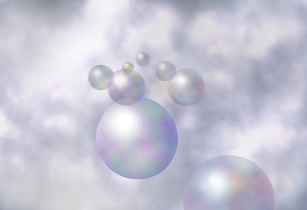 Blowing Bubbles  Art | Art from the Soul