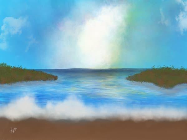 Calm Waters  Art | Karlana Pedersen Visual Art & Illustration