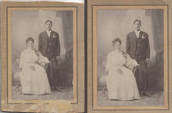 Photo Restoration Service Bronze Level