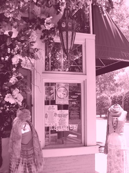 pink boutique asheville street flowers