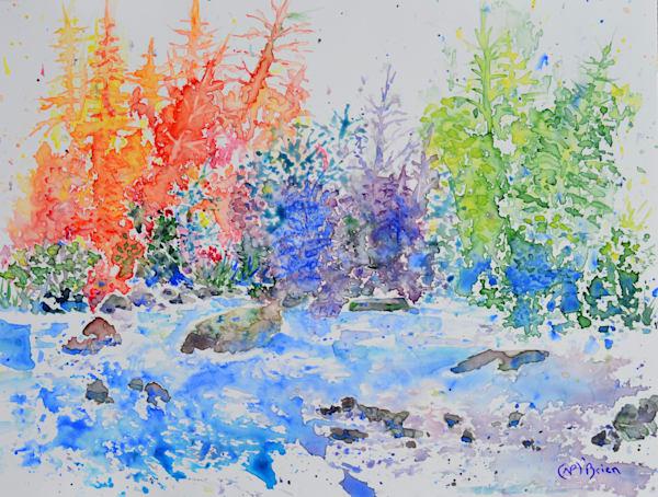 Rainbow Forest Riot  Art | Color Splash Ranch