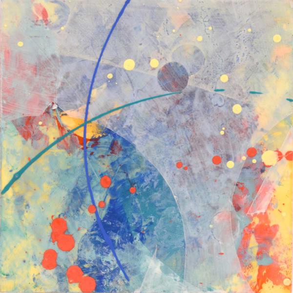 Fly Me To The Moon I Art | mariannehornbucklefineart