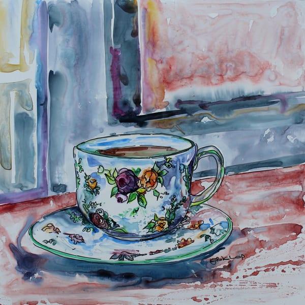 Cup In The Window Art | Karen Bishop Artist