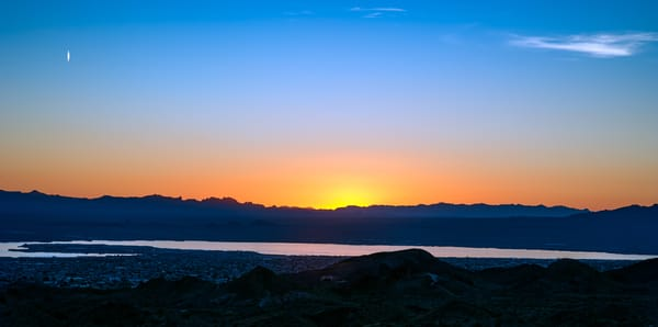 Sunset over Lake Havasu