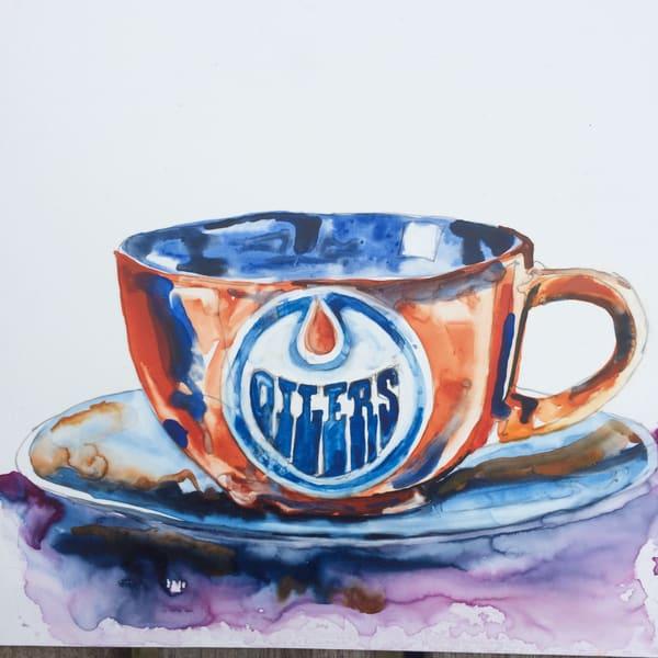 Oilers Cup Art | Karen Bishop Artist
