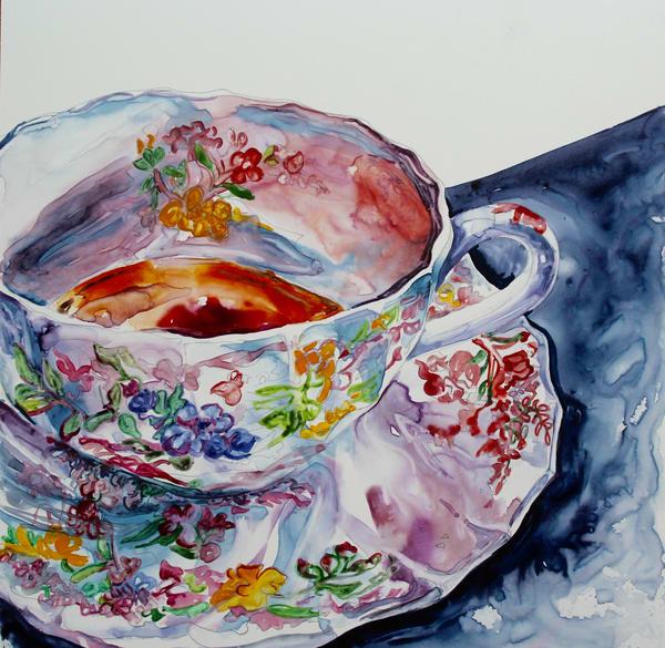 Earl Grey, Hot Art | Karen Bishop Artist