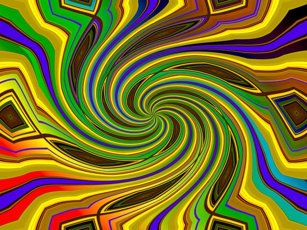 Mandala Twirl Art | Oz Fine Art Studio