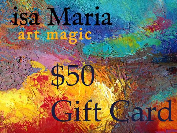 $50 Gift Card | isa Maria