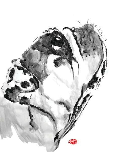 Groot: Bulldog Sideview Art | Youngi-Sumistyle pets