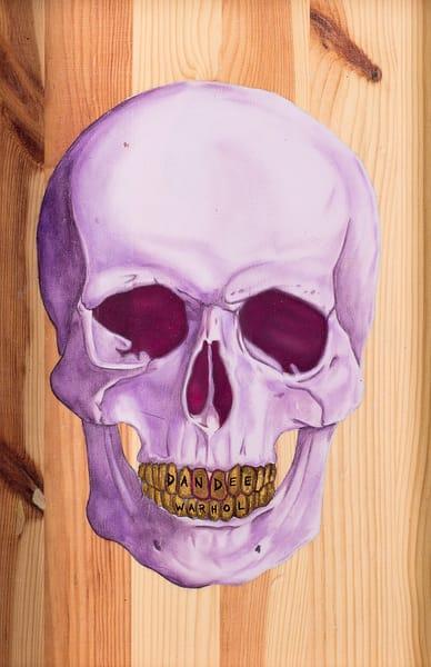 Purple Skull Art | War'Hous Visual Art Studio