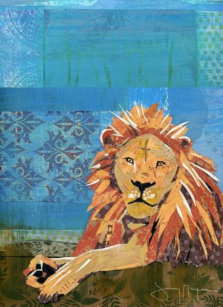 Lion Pride Art | Jenny McGee Art