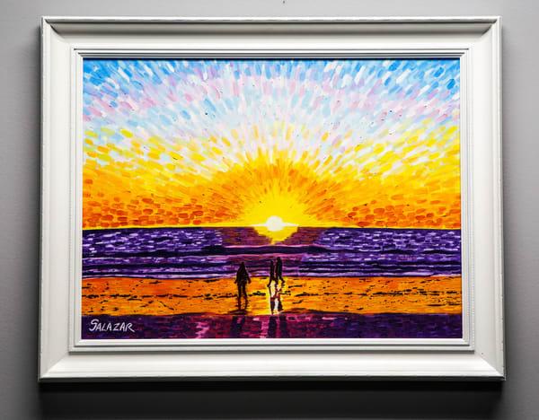 Venice Beach Sunset Art | War'Hous Visual Art Studio