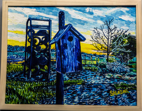 Birdhouse In Buellton Art | War'Hous Visual Art Studio