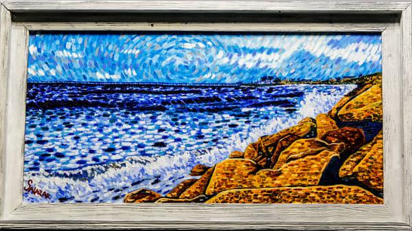 Rincon Island Bridge  Art | War'Hous Visual Art Studio