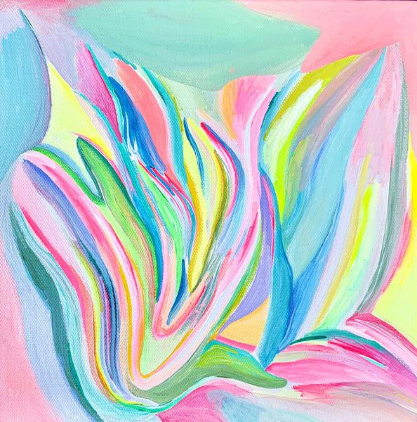 Efflorescence Art | Caroline Geys Design Studio