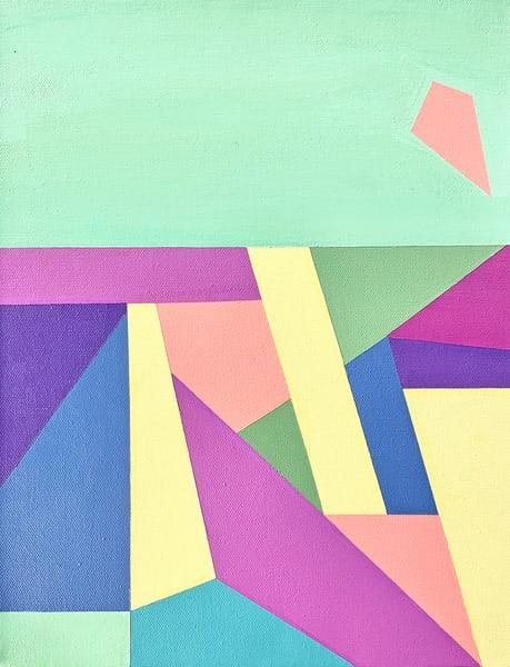 Mint Metropolis Art | Caroline Geys Design Studio