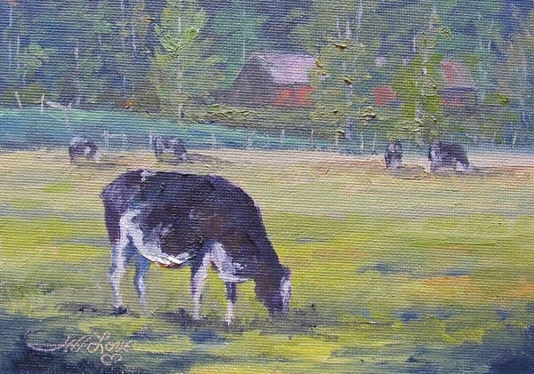 Cows All Black And White Art | Artisanjefflove