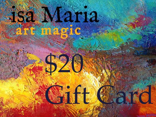 $20 Gift Card | isa Maria