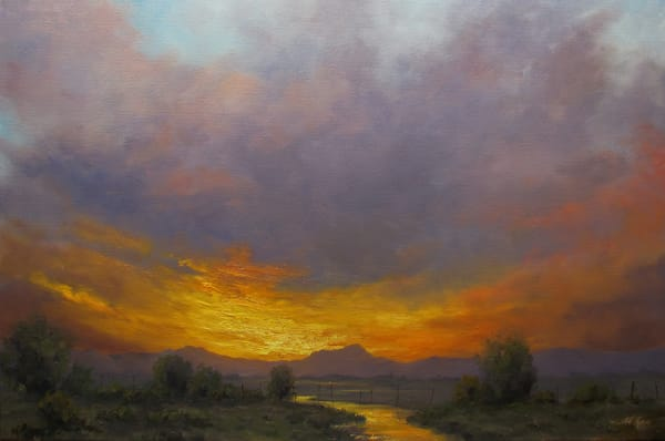 Evening Blush Art | Artisanjefflove