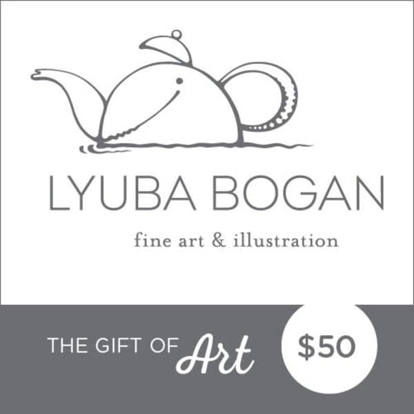 $50 Gift Card | lyubabogan
