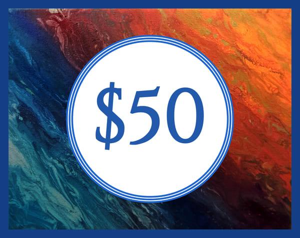 $50 Gift Card | Ashley Koebrick Schmidt Art Gallery