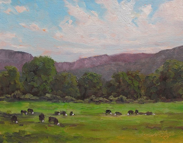 Herd In The Pasture Art | Artisanjefflove