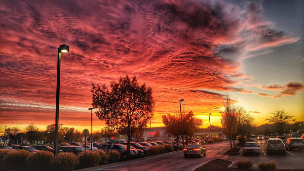 """""""Fire In The Sky"""" Photography Art 