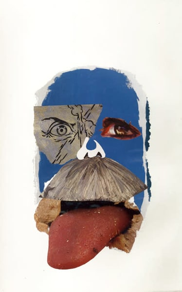 Big'stache, 2011 Art | Artist Rachel Goldsmith, LLC